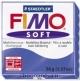 Пластика (запекаемая в печке) Fimo soft блестящий синий брус 56 г 8020-33